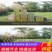 咸宁嘉鱼县竹篱笆pvc护栏竹栅栏厂家使用寿命多长?(中闻资讯)