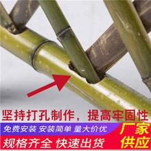 温州苍南县pvc草坪护栏竹篱笆塑钢护栏pvc护栏(中闻资讯)图片