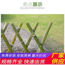 赣州会昌县pvc草坪护栏竹篱笆塑钢护栏花池围挡(中闻资讯)图片