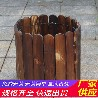商丘民权县竹篱笆花池围挡pvc护栏(中闻资讯)