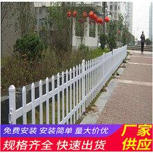 抚州黎川县pvc草坪护栏竹篱笆塑钢护栏pvc小区围墙栏杆(中闻资讯)图片