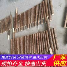 焦作博爱县木栅栏pvc绿化栏杆竹篱笆(中闻资讯)图片