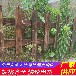 湖北咸宁围墙竹墙道路护栏规格齐全(中闻资讯)