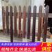 厦门翔安竹篱笆pvc护栏庭院装饰隔断源头厂家(中闻资讯)
