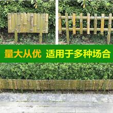 丹江口市竹篱笆竹子护栏绿化带花园栏杆草坪护栏(中闻资讯)图片