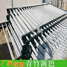 资兴市竹篱笆竹子护栏围墙花坛草坪护栏(中闻资讯)图片