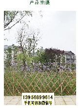 池州竹篱笆竹护栏庭院花园草坪草坪护栏马路城市(中闻资讯)图片
