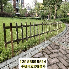 池州竹篱笆竹护栏装饰花圃草坪护栏绿色草坪栅栏(中闻资讯)图片