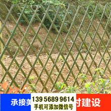 常德桃源pvc护栏绿化栏杆园林栏杆图片
