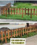 甘南竹籬笆pvc護欄塑鋼欄桿pvc綠化護欄(中聞資訊)圖片1