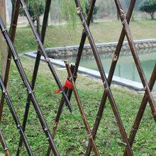 南京玄武区竹篱笆竹护栏隔断室外户外白色围栏需要请点击图片