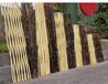 洞口竹篱笆竹护栏防腐木栅栏篱笆仿竹护栏(中闻资讯)