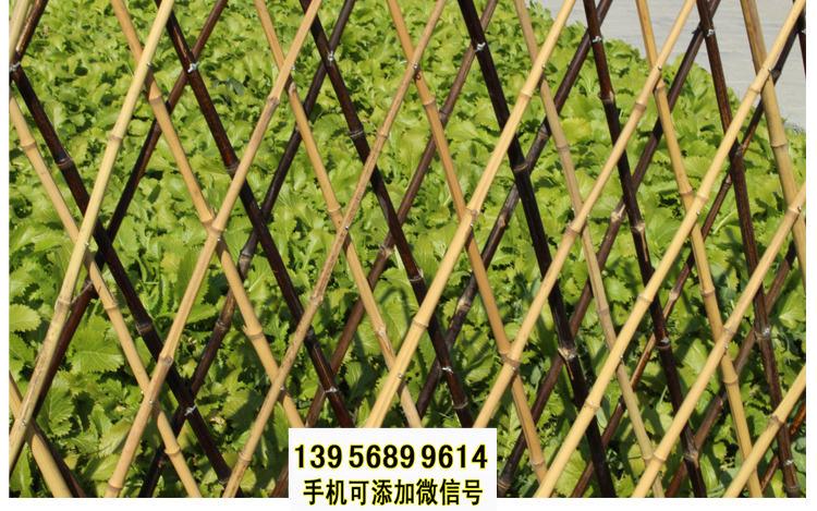 乐陵市竹篱笆 竹子护栏pvc围墙护栏pvc护栏(中闻资讯)
