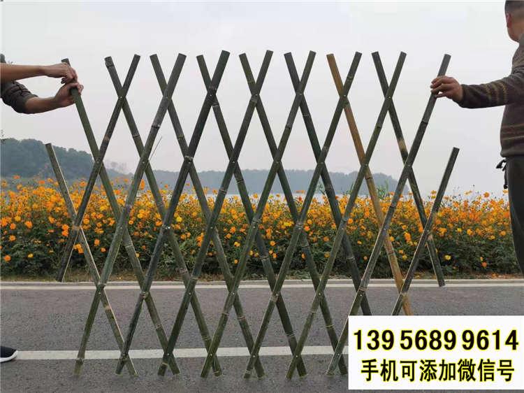 甘南竹籬笆 pvc護欄塑鋼欄桿pvc綠化護欄(中聞資訊)