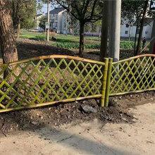 衡阳竹篱笆竹子护栏竹子篱笆仿竹子护栏邯郸大名图片