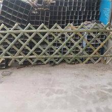 定海区竹篱笆竹护栏仿竹节护栏草坪护栏(中闻资讯)图片