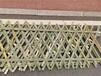 南平武夷山市竹片栅栏竹围栏竹篱笆草坪护栏户外围栏栅栏
