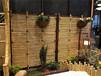陵水竹圍欄花園圍欄竹籬笆pvc護欄仿木護欄