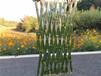 靈山竹圍欄木護欄竹籬笆pvc護欄木籬笆