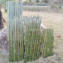 阳泉郊竹篱笆pvc护栏防腐木栅栏pvc小区围墙栏杆(中闻资讯)图片