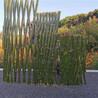 武汉武昌竹篱笆pvc护栏塑钢栅栏绿化带花园栏杆(中闻资讯)