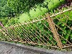 鳳山竹圍欄仿竹節護欄竹籬笆pvc護欄仿水泥護欄