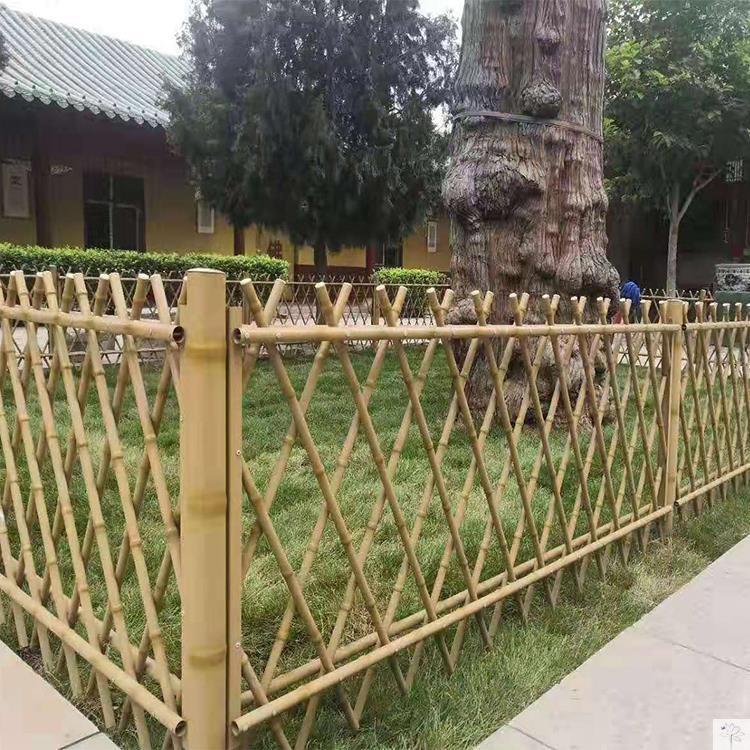 保定容城竹篱笆竹栏杆竹子篱笆竹片篱笆湖北神农架