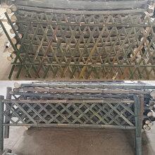 张北竹篱笆竹片围栏竹子篱笆仿竹节护栏清远连南瑶族自治图片