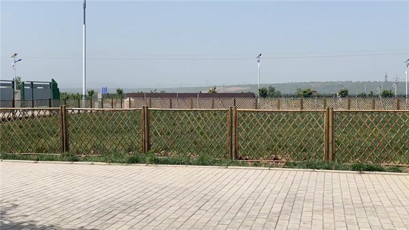 武岡竹籬笆庭院圍欄竹子籬笆圍欄柵欄忻州神池