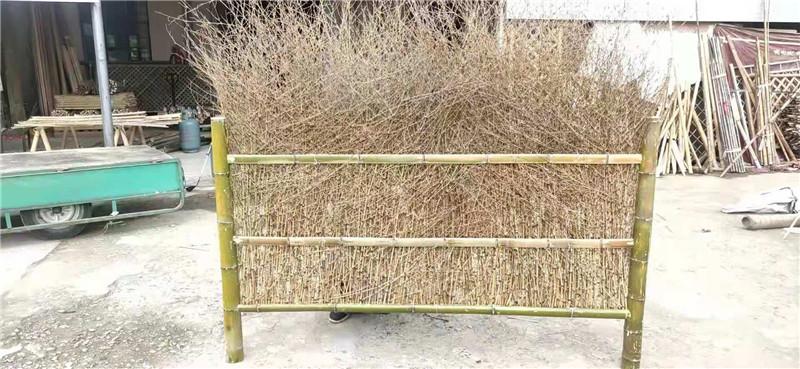 乳源竹籬笆室外院子竹子護欄竹子籬笆柵欄戶外梅州梅縣