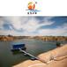 優秀廠家直銷取水泵船模塊化智能型浮塢泵站江蘇中興水務
