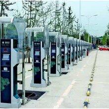 新能源汽车充电桩广告机仁为停车棚充电机