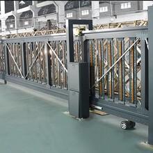 仁为铝合金智能电动门悬挂门悬浮门平移直线门