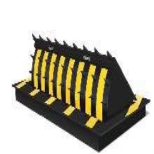 電動破胎器仁為毛尖液壓路障機系列蘇州路障設備