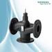 西門子溫控閥VXF47.80-100電動三通調節水閥