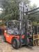 二手叉车低价处理合力杭州5吨柴油叉车