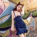杭州厂家直销服装货源女装牛仔裙韩版潮流破洞牛杂