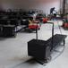 軌道電動平板車生產廠家物料搬運及倉儲設備溫室電動遙控運輸車