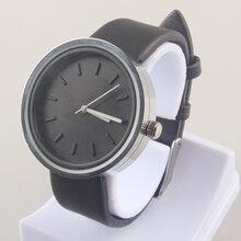 鼎诚新款黑色男款手表简约时尚男士男款石英表欧美男款手表