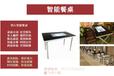 智慧餐廳西安鑫飛智能餐桌李小璐觸摸點餐桌/智能觸摸點餐桌/觸摸互動桌