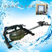 水阻划船器环保绿色健身水阻划船模拟器价格铝质划船机价格