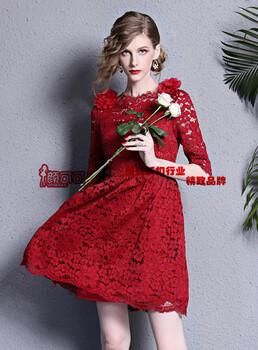 依维特新款连衣裙时尚优雅品牌货源直供性价比超高