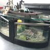 鸿源3-19mm玻璃深加工工厂专业定制淋浴房鱼缸钢化玻璃