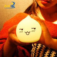 企業電子禮品創意LED小夜燈定制印logo