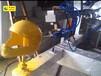 摩托车头盔喷涂线_安全帽喷涂机器人