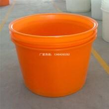 慈溪祥順廠家供應塑料45L滾塑圓桶塑料水罐水塔水桶家用裝水桶垃圾桶油漆桶洗澡桶PE滾塑釣魚桶圖片