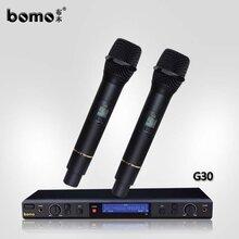 台湾专业ktv话筒bomo布木g30演出会议无线麦克风厂家批发直销20年