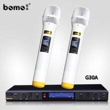 深圳bomo布木无线麦克风g30a红外线自动对频话筒厂家
