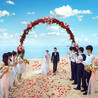 沙滩主题婚礼-沙滩婚礼-海南婚礼策划椰岛之恋