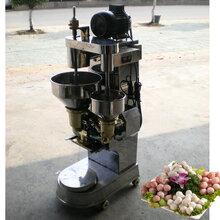 全自动丸子生产线_肉丸机_肉丸成型蒸煮流水线图片